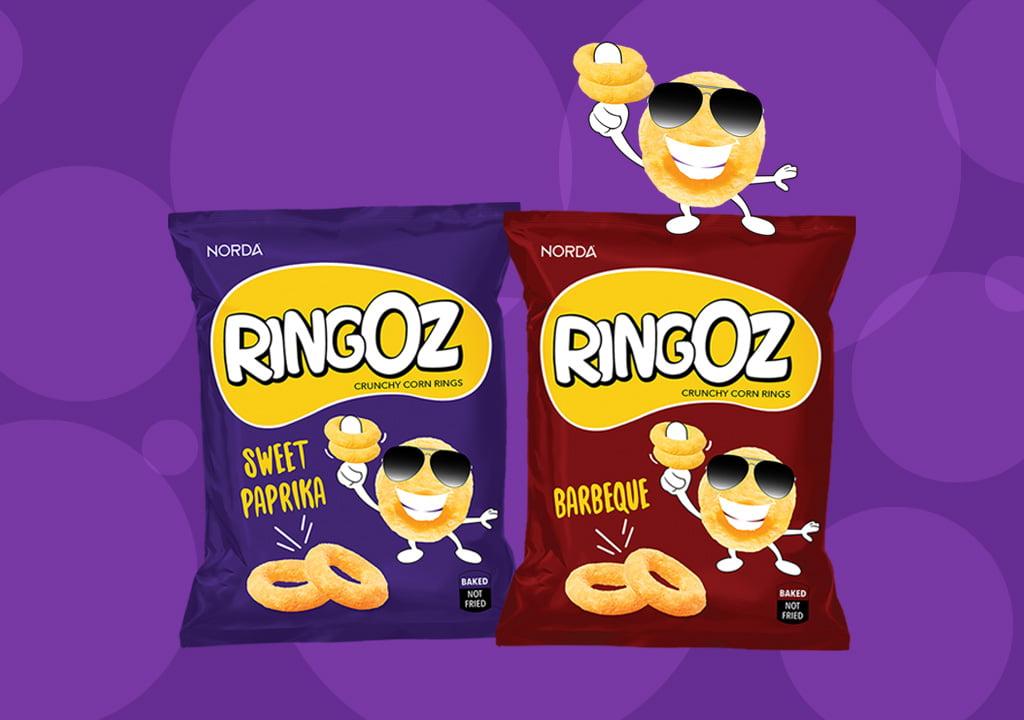 ringoz corn ring snack, corn snack