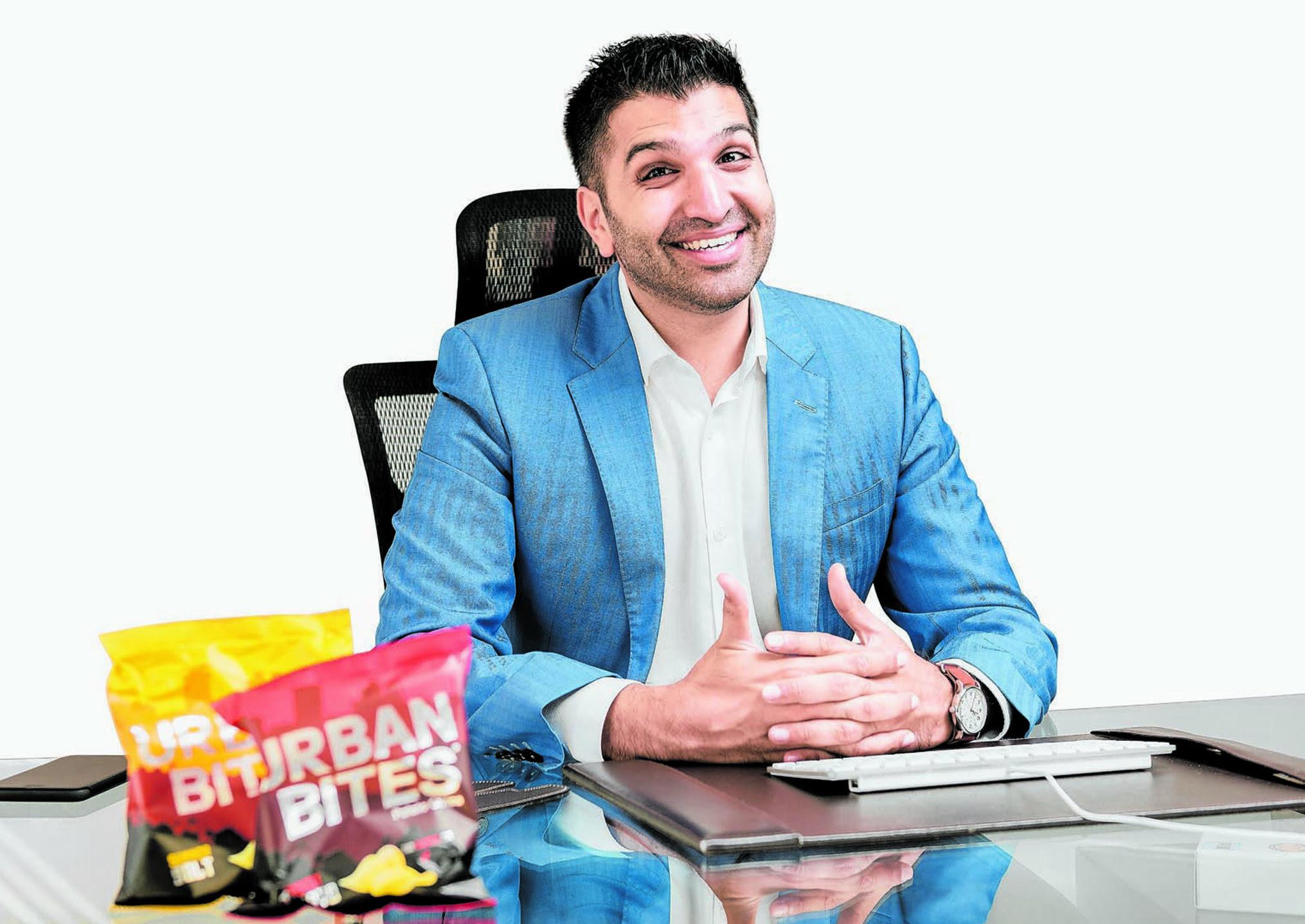 farad ramji, norda industries limited, urban bites potato crisps