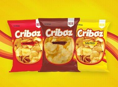 cribaz potato crisps, potato chips