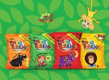 tinga tasties healthy corn snacks